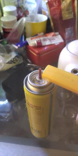 打火机气体罐大瓶通用充气瓶通用高纯度气打火机烟盒焊枪火机充气通用 B200ML 2支价格 晒单图