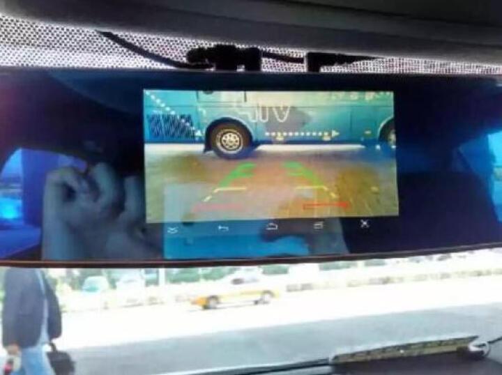 文驰欧 GPS车载导航仪行车记录仪电子狗测速仪一体机 双镜头后视镜倒车影像 福特嘉年华新福克斯福睿斯蒙迪欧致胜翼博翼虎锐界 晒单图