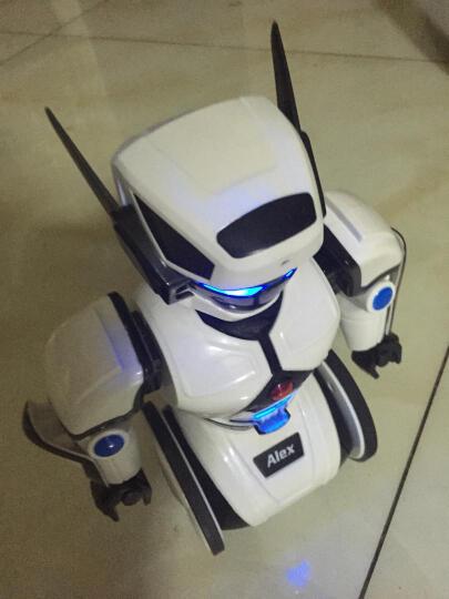 艾力克故事机 云智能机器人玩具语音对话 英语早教云端资源 手机遥控电动跳舞机器人儿童礼物 第2代 晒单图