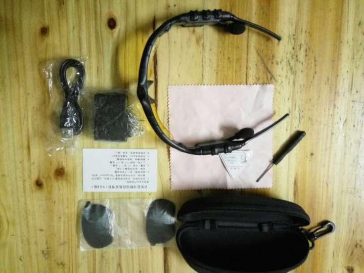 致奥 蓝牙眼镜耳机 车载商务通用苹果华为手机无线耳机偏光 智能眼镜【含3C认证充电头+配两副镜片】 晒单图