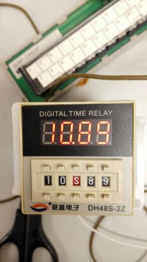 展越 数显时间继电器DH48s-2z 220v 380v交流通电延时开关 送底座 DH48S-2Z-AC/DC24-240V 晒单图