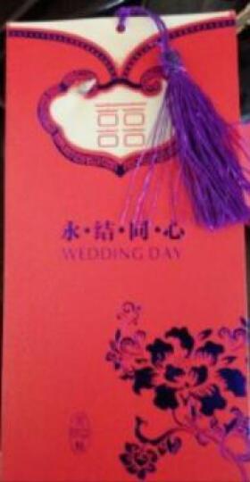 紫川之心 婚庆用品欧式婚礼请帖 中式结婚创意请柬2018 个性定制喜帖打印婚礼邀请函 紫色镂空欧式 晒单图