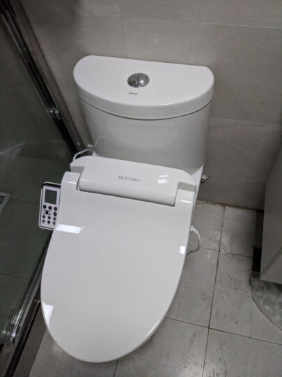 舜洁(soojee) 智能马桶盖洁身器即热式温水冲洗坐便器妇洗器ZJ-BG7021 储热款ZJ-BS821 智能马桶盖 晒单图