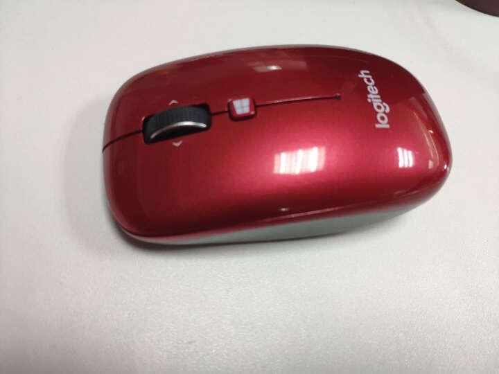 罗技(Logitech)M558(M557) 鼠标 无线蓝牙鼠标 办公鼠标 对称鼠标 白色 自营 晒单图