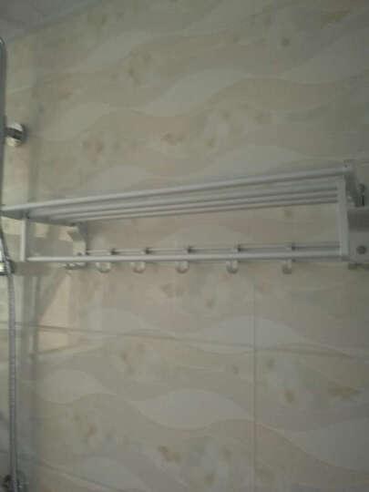 卡希亚 太空铝毛巾架浴巾架浴室卫浴五金挂件套装 超值 升级款H套餐4件套+赠品 晒单图