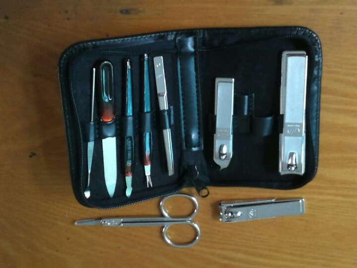 韩国777指甲刀指甲钳套装美甲修甲工具组合指甲剪修脚刀DS-800C含大号指甲刀 晒单图