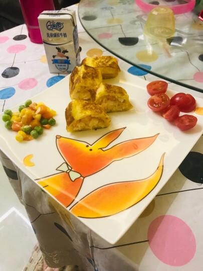 悠米兔yomerto 长条寿司盘冷菜盘子陶瓷白色餐盘创意长方形盘子餐具个性盘子家用 (1561)圣旨盘(大号) 晒单图
