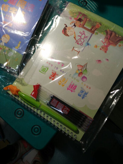 儿童简笔画凹槽字帖幼儿启蒙涂鸦基础绘画练字板线条图形图案卡通绘画小学学龄前画画练字帖 晒单图