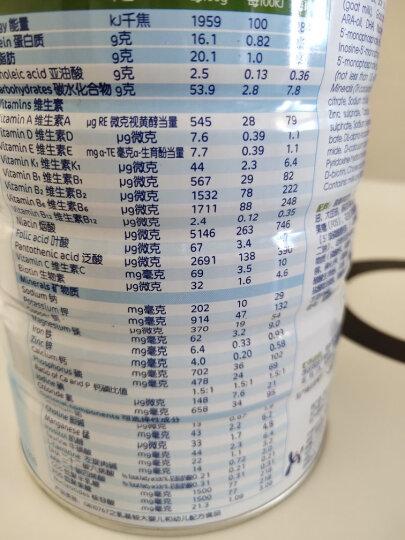 佳贝艾特(Kabrita)悦白(原金装)婴儿配方羊奶粉 1段(0-6个月婴儿适用)400克(荷兰原装进口) 晒单图