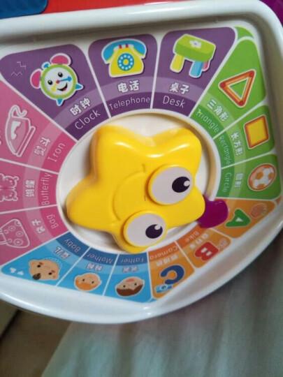 宝丽七面体游戏桌儿童玩具女孩男孩 婴儿玩具0-1岁手拍鼓拍拍鼓 益智玩具1-3岁智慧屋早教机 1406B红色 晒单图