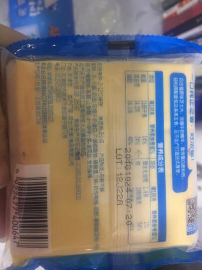 【百吉福旗舰店】百吉福芝士片生鲜烘焙辅材早餐三明治芝士家庭装 3袋套餐(共30片) 晒单图