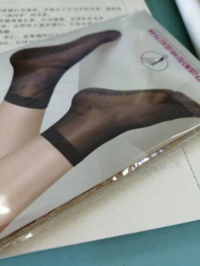 梦娜10双 短丝袜女式包芯丝棉底丝袜 防滑防钩丝耐穿吸汗透气袜袜子女 黑色5双+肤色5双 均码 晒单图