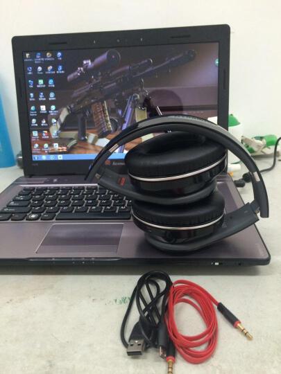 好尔(haoer)KS770 无线蓝牙耳机 头戴式蓝牙4.1 立体声通用型多功能插卡耳机 白色 晒单图