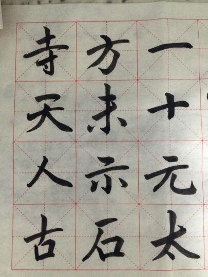 中国书法入门教程·楷书入门大字帖:欧阳询《九成宫醴泉铭》 晒单图