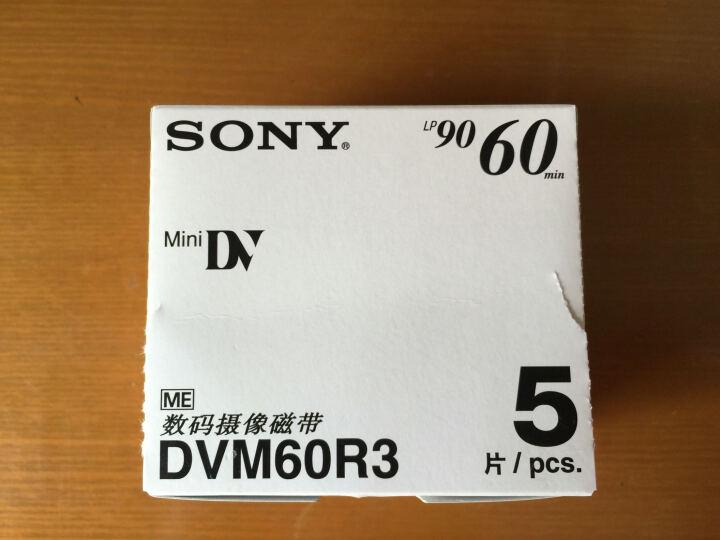索尼(SONY) DV带 原装miniDV磁带 1盘 晒单图