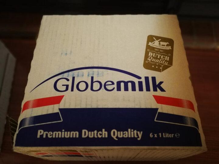 荷兰原装进口 荷高Globemilk有机部分脱脂纯牛奶1L*6 晒单图