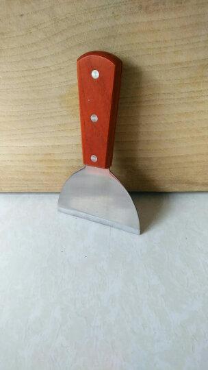 木柄不锈钢巧克力铲 宽头铲刀 制作花样巧克力时的工具  晒单图