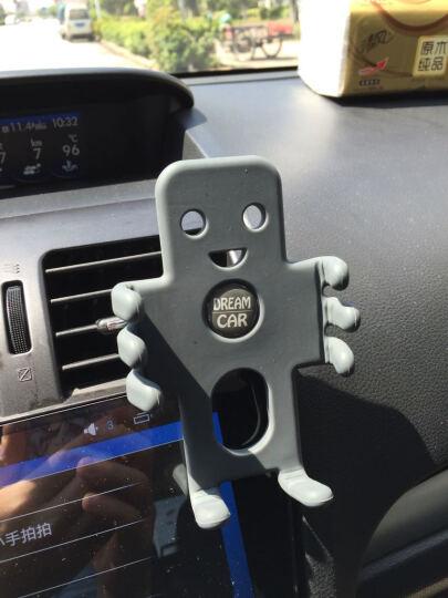 轩之梦汽车车载手机支架GPS导航仪架手机架夹汽车用品 黑色中号 晒单图