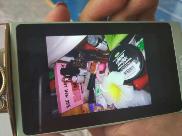 索尼(SONY)靓咔 DSC-KW1 卡哇伊 香水瓶式自拍相机 卡片机 送礼 数码相机 晶莹白 标配 晒单图