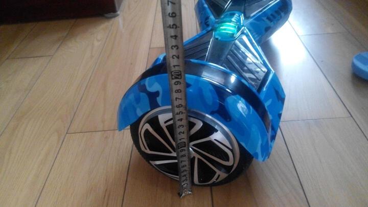 傲凤(AOFENG) 傲凤平衡车两轮儿童双轮电动车成人智能代步车 LED轮毂/8吋跑马灯/魅力橙 晒单图
