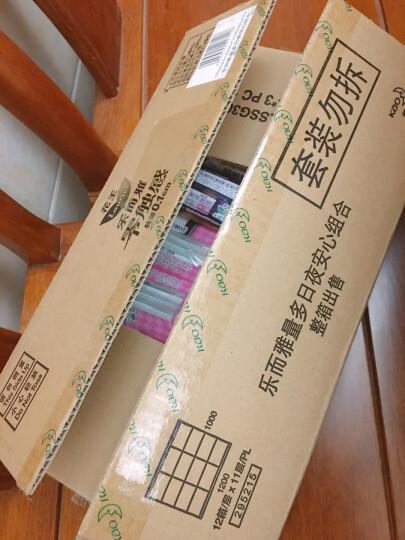 花王乐而雅(laurier)零触感特薄日夜经典组合11包装卫生巾(日用10片x3包+日用8片x4包+夜用350mm4片x4包) 晒单图