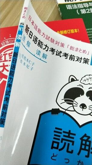 N1读解:新日语能力考试考前对策 日语等级考试教材N1图书教材书籍 等级考试用书 日语n1 晒单图