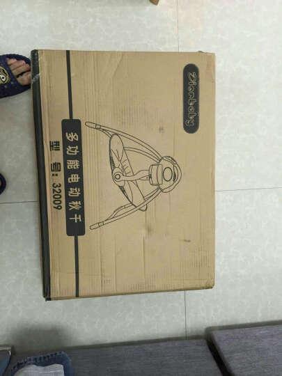 迪奥贝莱(Diorbaby) Diorbaby多功能婴儿电动摇椅 摇篮床宝宝安抚椅 躺椅 旗舰版优雅粉 电源+棉垫+蚊帐 晒单图