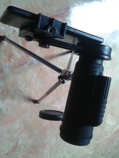 金属调焦手轮惟博(worbo)超广角专业级单筒望远镜高清高倍微光夜视儿童防水可连接手机拍照架非军事用 缚虎DF1042 手机拍照架+定制三角架 晒单图