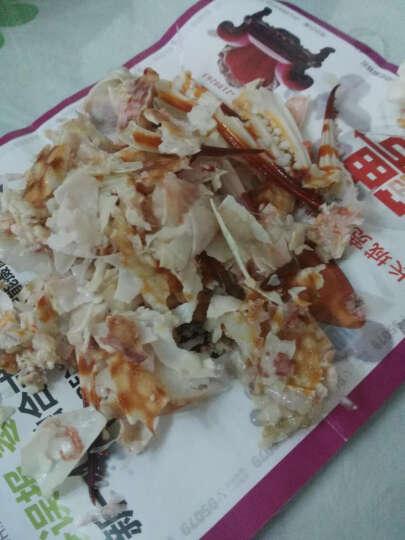 莎朗 宁波海鲜 醉蟹钳 大蟹脚 梭子蟹脚 即食醉蟹 螃蟹类制品螃蟹腿500g 晒单图
