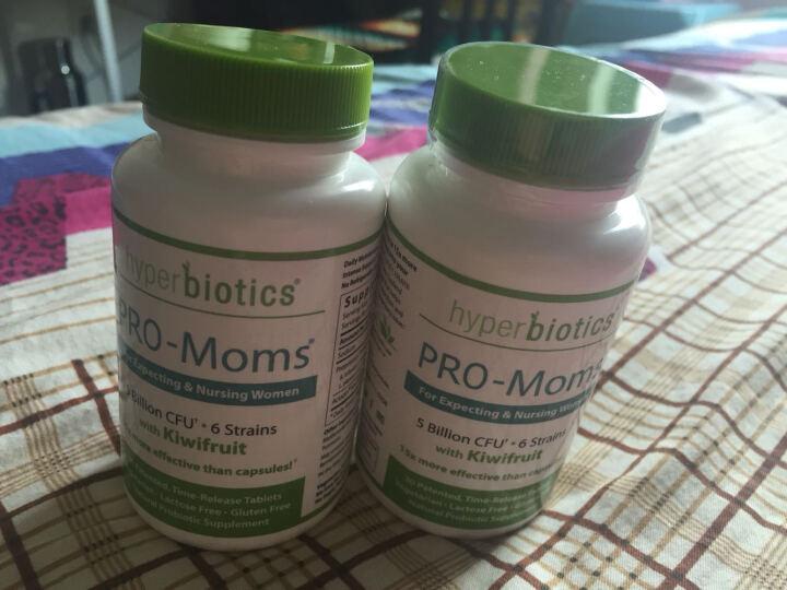 Hyperbiotics 合百益 益生菌成人 孕妇产妇肠胃肠道活性女性益生菌粉胶囊 30片 晒单图