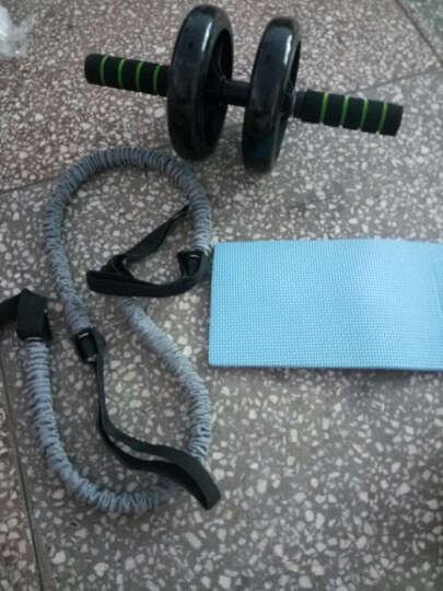帝威健腹轮腹肌轮超静音双轮轴承健身器材收腹轮 黑色 轴承健腹轮/送助力绳两根 晒单图