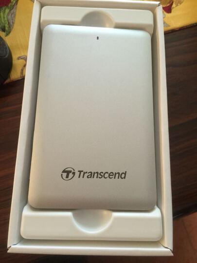 创见(Transcend)120G USB3.1移动固态硬盘ESD220C系列防刮耐磨 时尚轻薄 支持OTG移动设备 晒单图