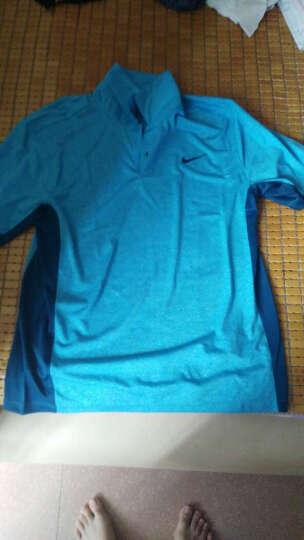 耐克NIKE T恤男款POLO衫 高尔夫服装男士短袖运动T恤 蓝色 M 晒单图