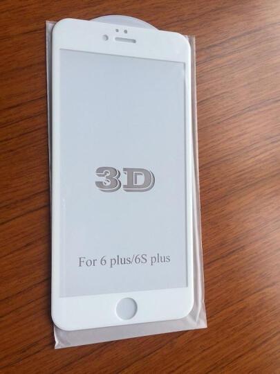 加能 苹果6S钢化膜 全屏覆盖前后膜保护膜防指纹手机贴膜 适用iphone 6/6s/plus 5.5寸 灰色背面后膜 晒单图