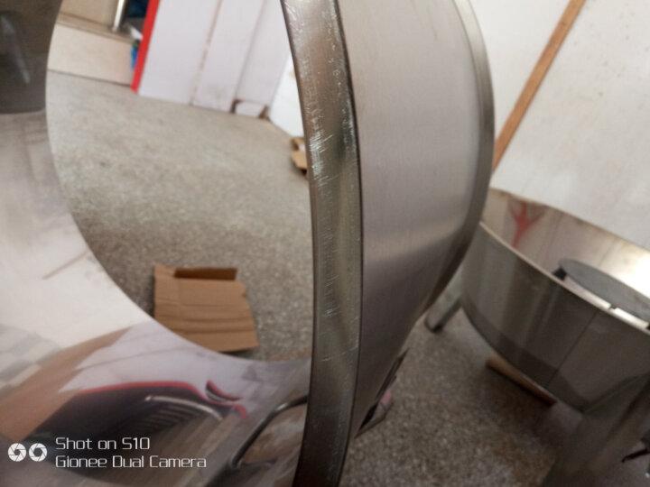 木炭烤鸭炉 不锈钢商用烧烤炉 双层保温烧鸭炉烧鹅炉 吊烧叉烧炉可观火木炭烧烤炉 燃气80cm直径 晒单图