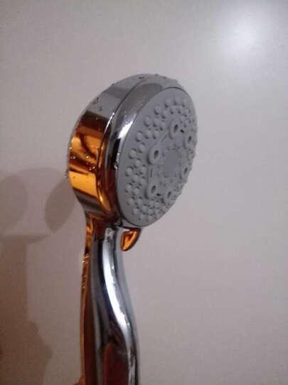 英仕(EASO) EASO英仕卫浴 多功能手持花洒喷头 浴室喷头淋洗浴莲蓬头 增压款喷头+软管+插座 晒单图