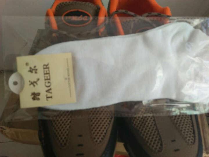 (XINIUPIKA) 登山鞋男夏季新品户外鞋越野徒步旅游鞋防滑耐磨休闲运动鞋 军绿色 42 晒单图