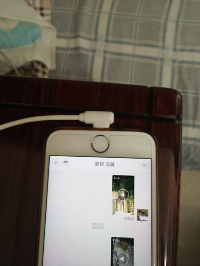 品胜(PISEN)弯头苹果数据线 1米苹果白 适用于苹果Xs Max/XR/X/6s/7/8plus充电线ipad air/pro弯头电源线 晒单图