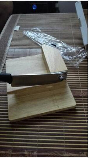膳道 铡刀家用型中药材切片刀年糕牛轧糖牛羊肉切片机 木质底座 晒单图