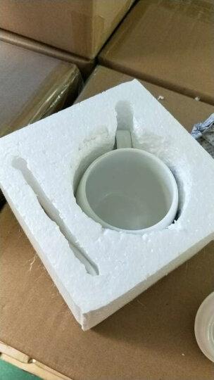 旬家 创意陶瓷马克杯子可爱女情侣杯水杯陶瓷咖啡杯子带盖勺 个性萌系表情杯定制 带盖带勺-喜 晒单图