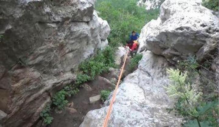 户外登山绳攀岩绳静力绳子 10米蓝色(直径10mm+2钢扣) 晒单图