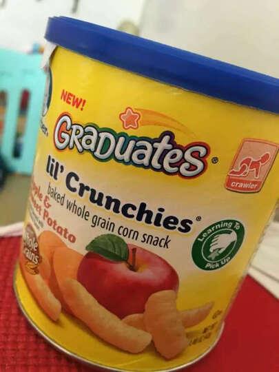 Gerber 美国 进口嘉宝婴儿泡芙条 玉米甜椒番茄味42g*2罐 晒单图