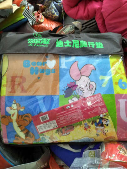 Disney迪士尼爬行垫宝宝双面加厚婴儿爬爬垫 维尼多彩世界+米奇爱运动 200*180*2cm 晒单图