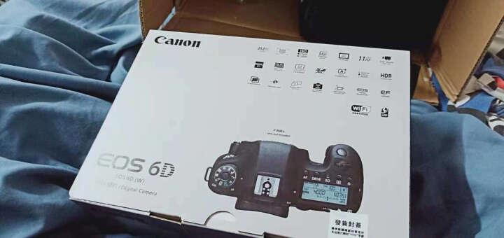 佳能(Canon)6D 6D2 佳能 EOS 6D Mark II 全画幅专业级数码单反数码相机套机 【店长推荐】6D+24-105 STM套机 晒单图