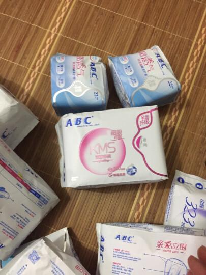 ABC KMS棉柔系列卫生巾 0.1cm轻透薄日用240mm*18片 晒单图