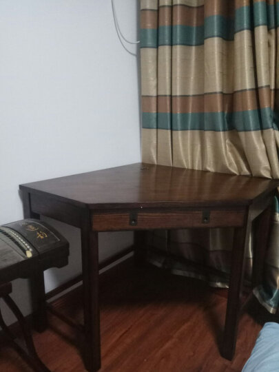 Markbest 品之印 美式电脑桌 实木书桌转角桌贴墙桌 多功能桌 写字台无现货拍下30天之内发货 单个五角桌(椅子另拍) 现货 晒单图