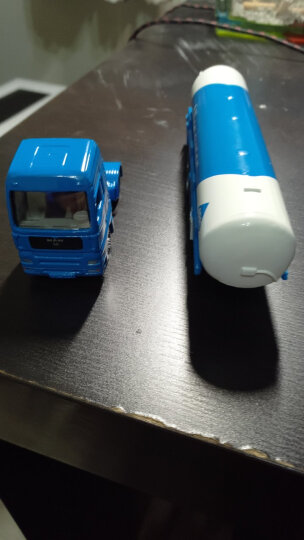 siku 德国品牌仕高合金车玩具平板拖车运输车卡车货运车惯性车集装箱模型玩具 大众甲壳虫带房车 U1629 晒单图