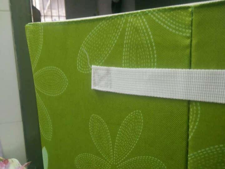 特大号收纳箱牛津布整理箱储物箱衣物棉被子收纳袋 塑料可视收纳柜收纳包钢架整理袋衣物收纳盒 红色点点 100L (三钢架) 晒单图