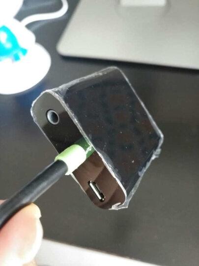 CE-LINK HDMI转VGA线转换器带音频口 高清视频转接头适配器 电脑盒子连接电视显示器投影仪线 黑色 2285 晒单图