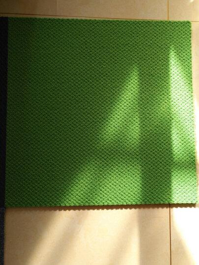 免胶地毯 地毯卧室满铺客厅隔音自吸式毛绒拼接地毯 日本进口日毯 (一箱16片装) HT112粉红 晒单图